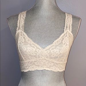 Free People White Bralette Size S